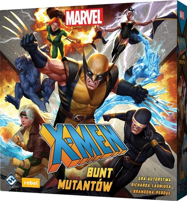Rebel Gra X-Men: Bunt mutantów gra planszowa