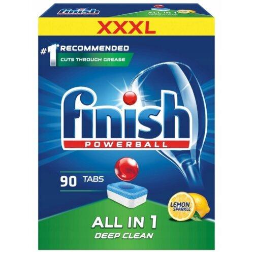 Tabletki FINISH All in 1 Cytrynowy 90 szt