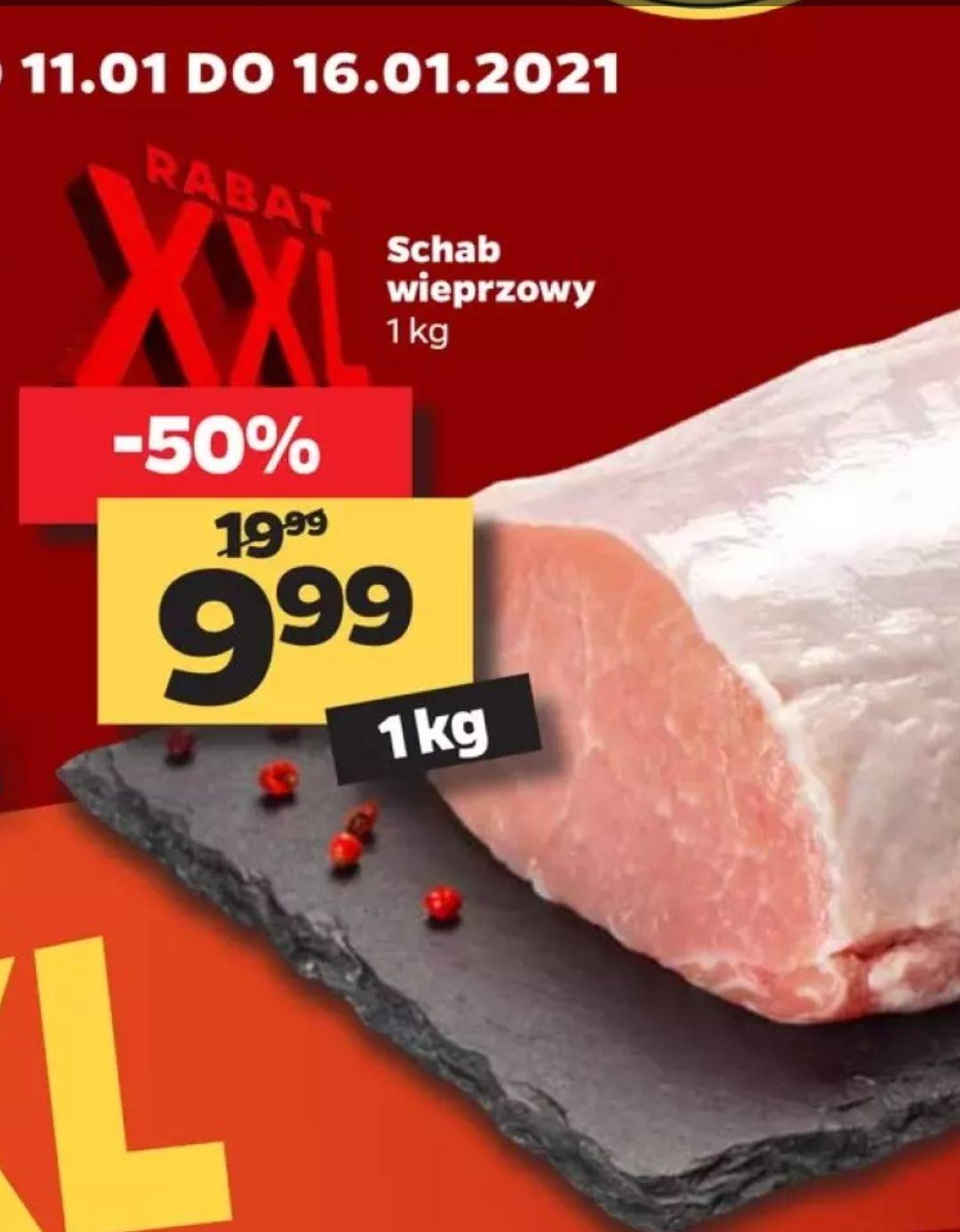 Schab wieprzowy 1kg w Netto