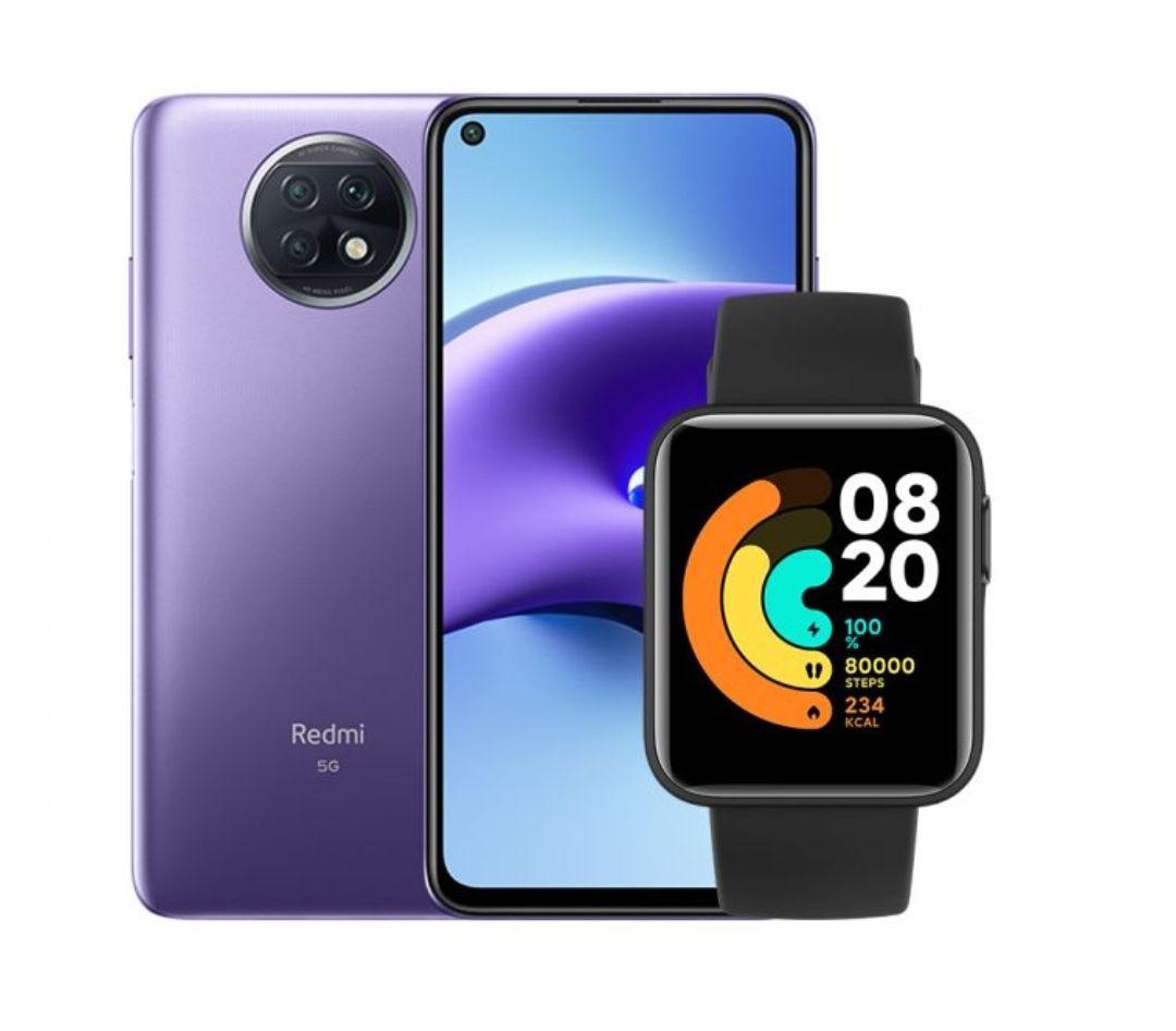 Smartfon Redmi Note 9t 4/128 + Mi Watch Lite gratis