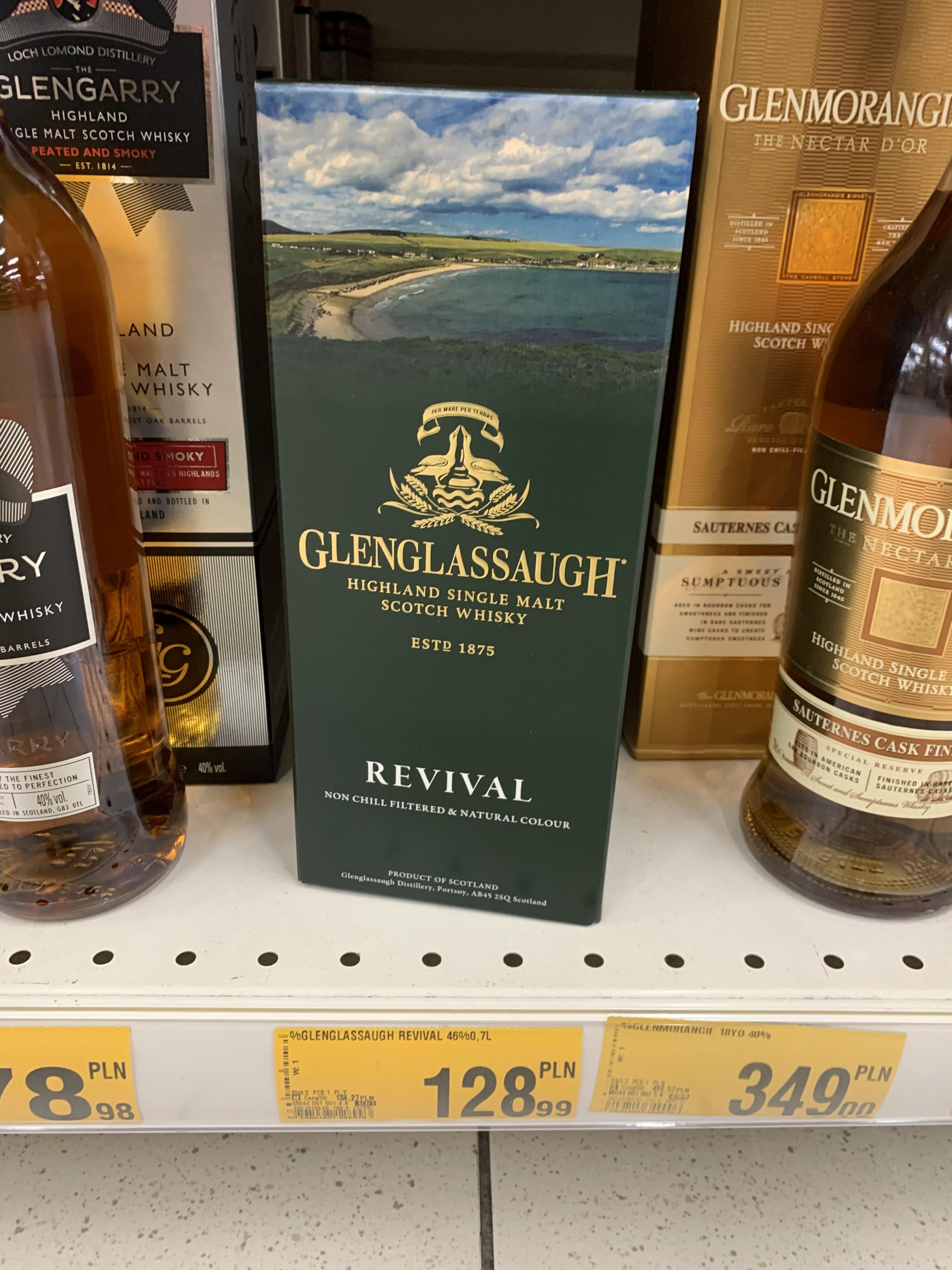 Whisky Glenglassaugh revival 0,7l