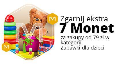 Allegro, +7 Monetprzy zakupie za min. 79 zł w kategorii Zabawki