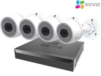 Zestaw do monitoringu (kamery i rejestrator) Ezviz C3T PoE + X5S PoE