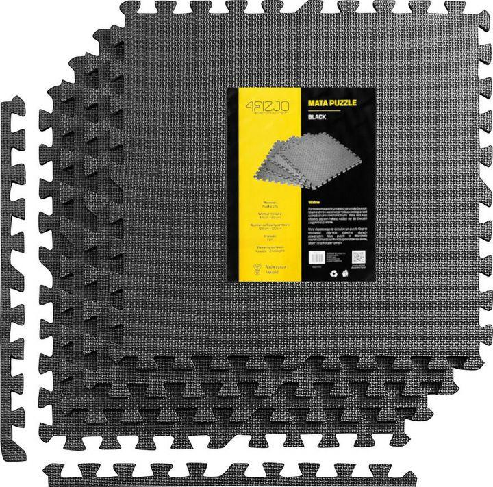 4fizjo Mata puzzle 60cm x 60cm czarna