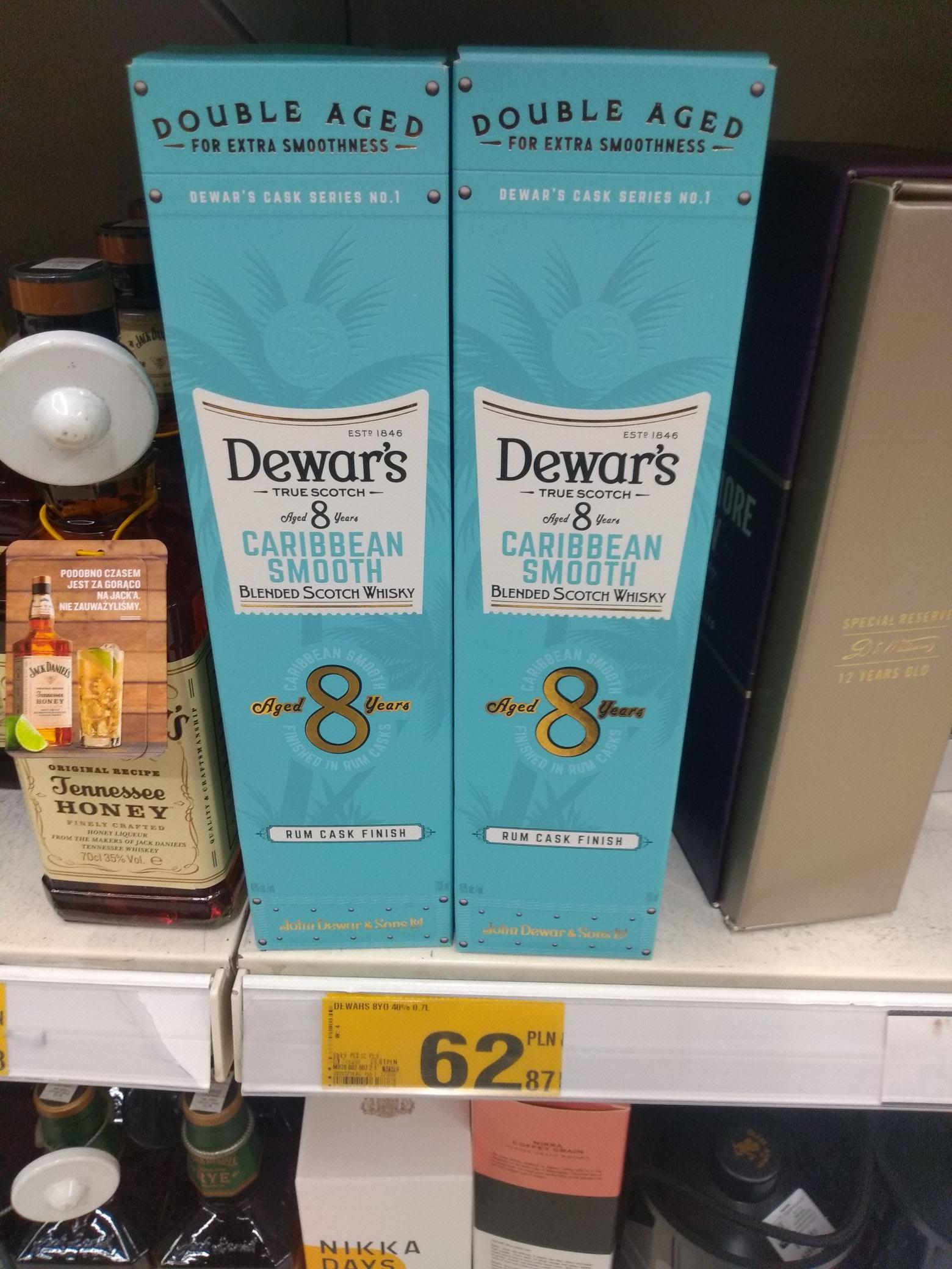 Whisky Dewar's 8yo Caribben Smooth