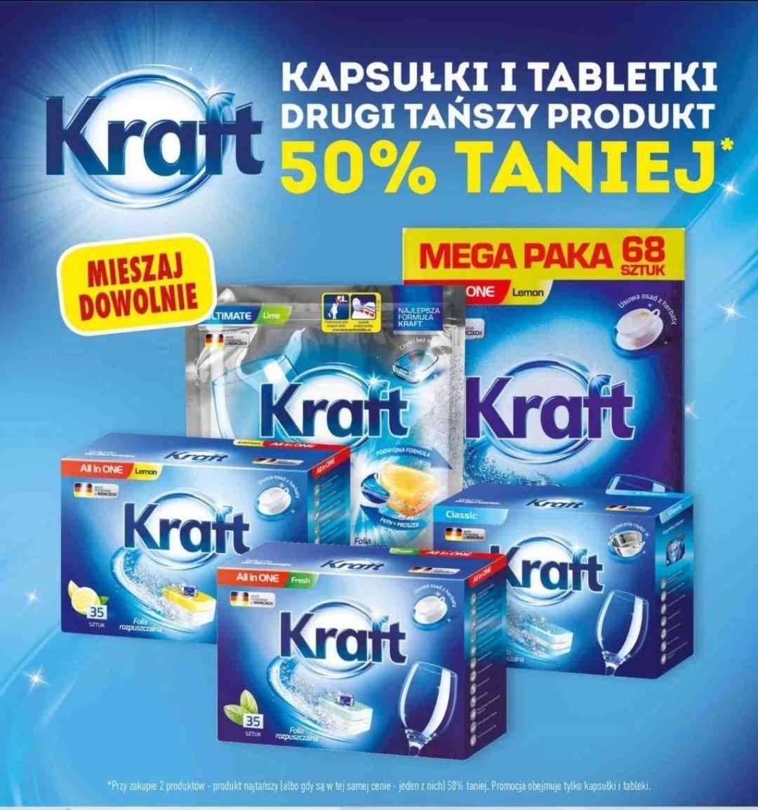 KRAFT - Przy zakupie dwóch opakowań - tańsze -50%