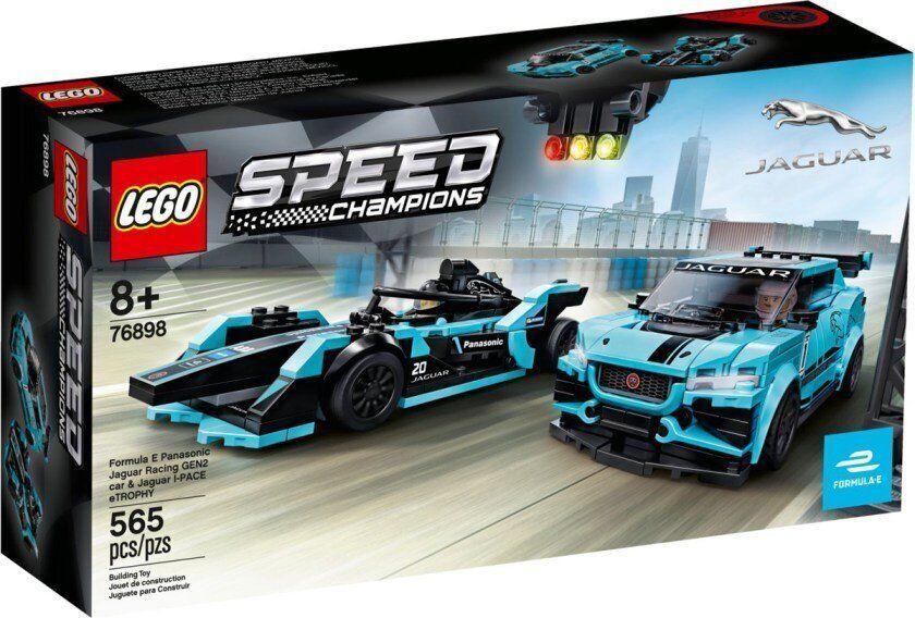 LEGO Speed Champions Formula E Panasonic Jaguar Racing GEN2 car i Jaguar I-PACE Etrophy (76898)