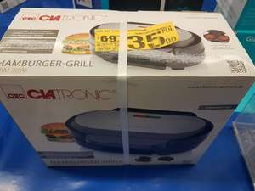 Hamburger grill CLATRONIC
