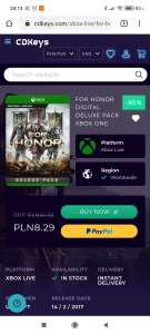 For Honor Deluxe Pack Xbox One