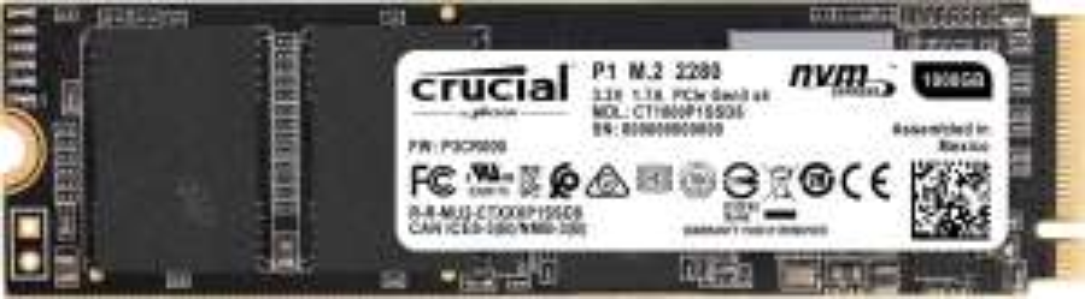 Crucial P1 M.2 1TB (CT1000P1SSD8)