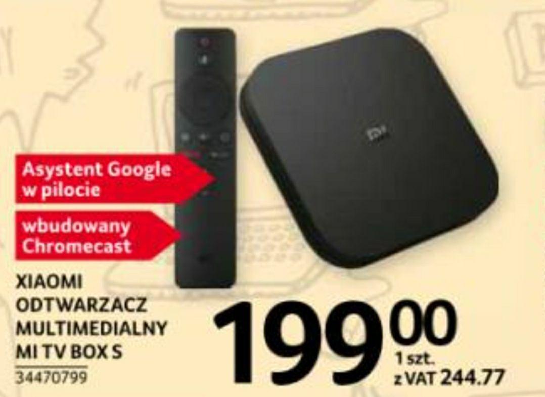 Xiaomi Mi Box S w najniższej cenie w polskiej dystrybucji