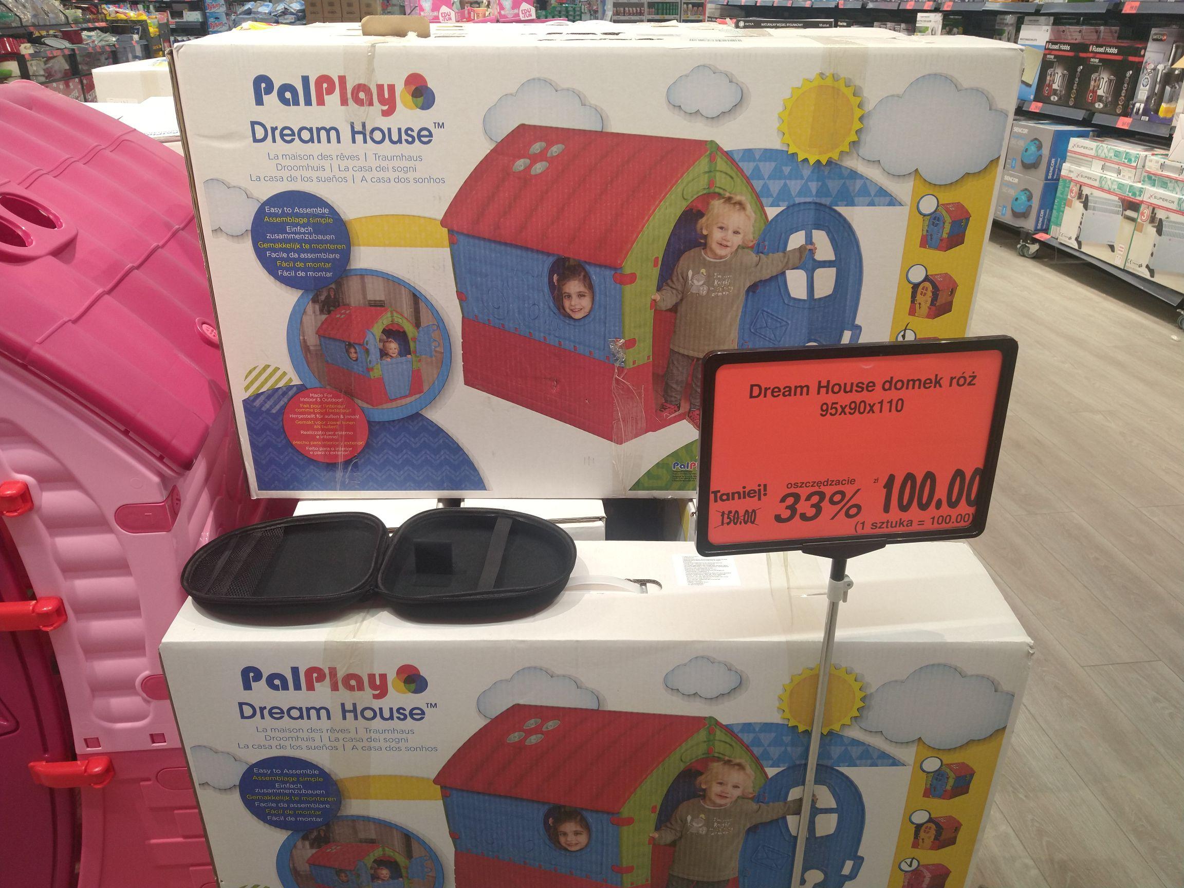 Domek dla dzieci. Dream House Kaufland Stalowa