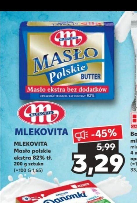 Masło polskie w Kauflandzie