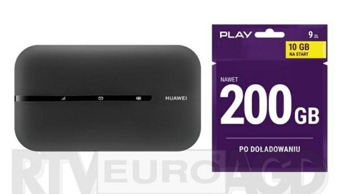 Huawei E5783 (czarny) + Starter Play 10GB