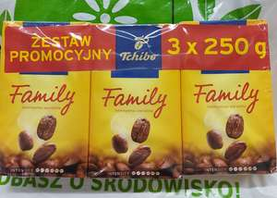 Tchibo Family Kawa palona mielona 3 x 250 g