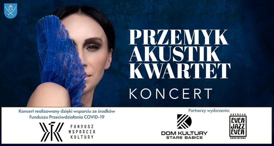 Przemyk Akustik Kwartet - bezpłatny koncert online nadal dostępny