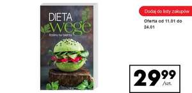 """""""Dieta Wege. Rośliny na talerzu"""" - Opracowanie zbiorowe"""