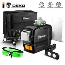Poziomica laserowa DEKO 12 Lines 3D DKLL12tdP02 BASIC SET US $46.14