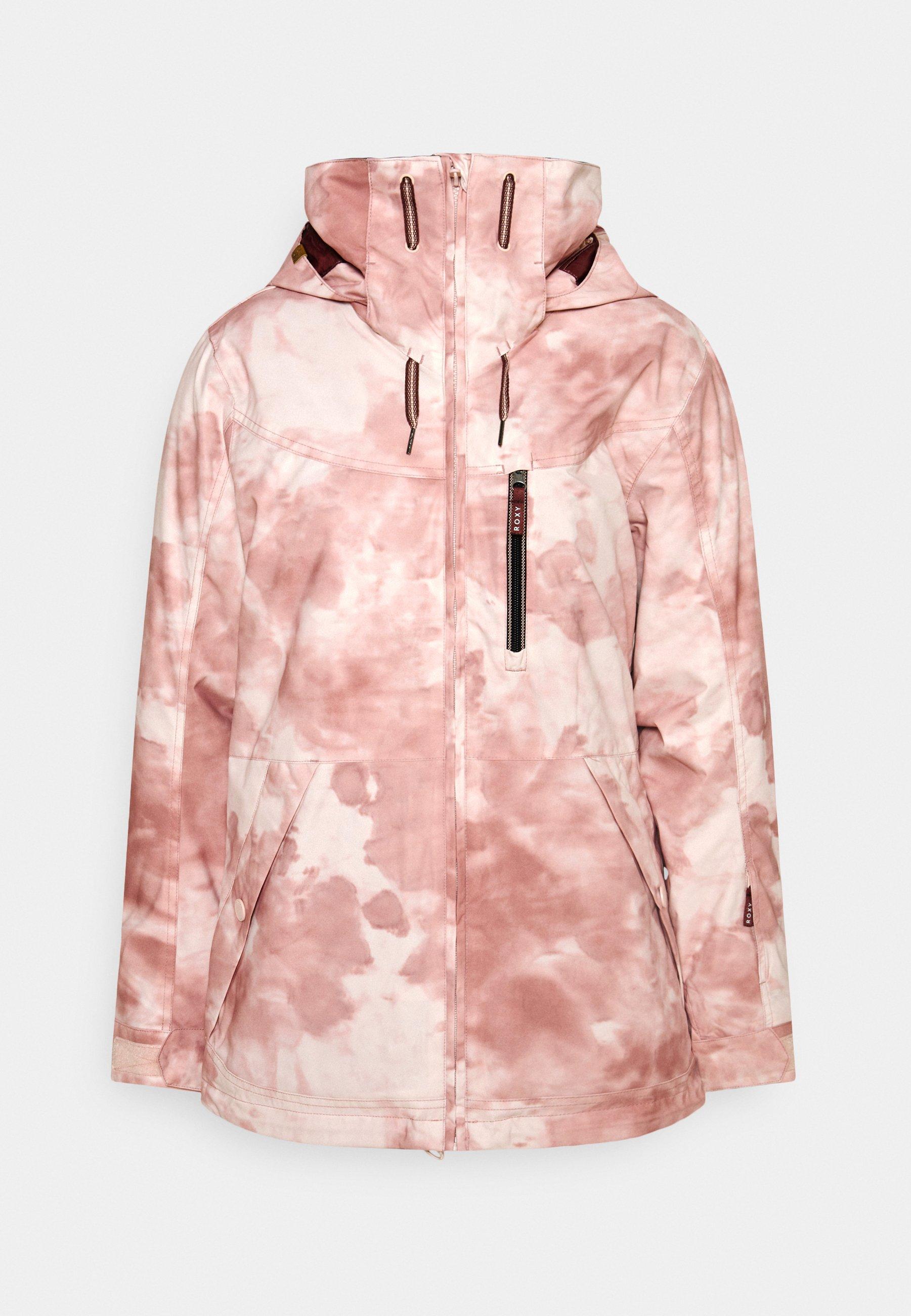 Kurtka narciarska ROXY Presence w kolorze różowo-srebrnym XS-XL @Limango