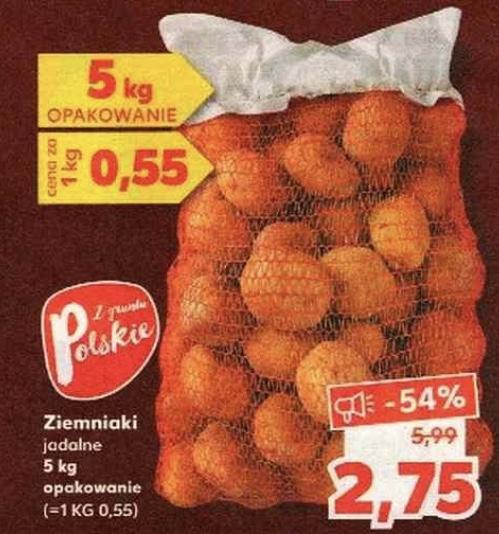 Ziemniaki 5kg @Kaufland