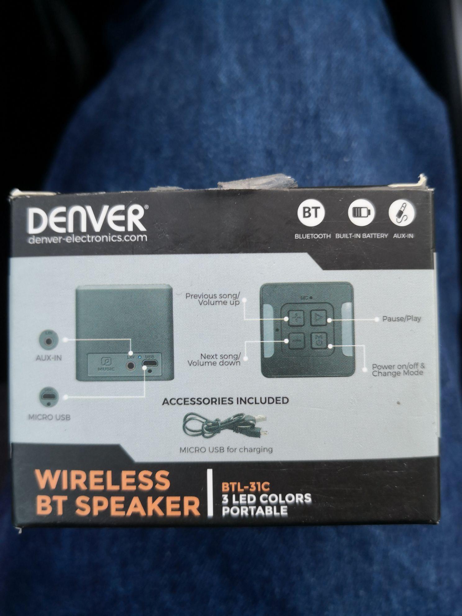 Głośnik Denver Btl-31 empik Zabrze m1