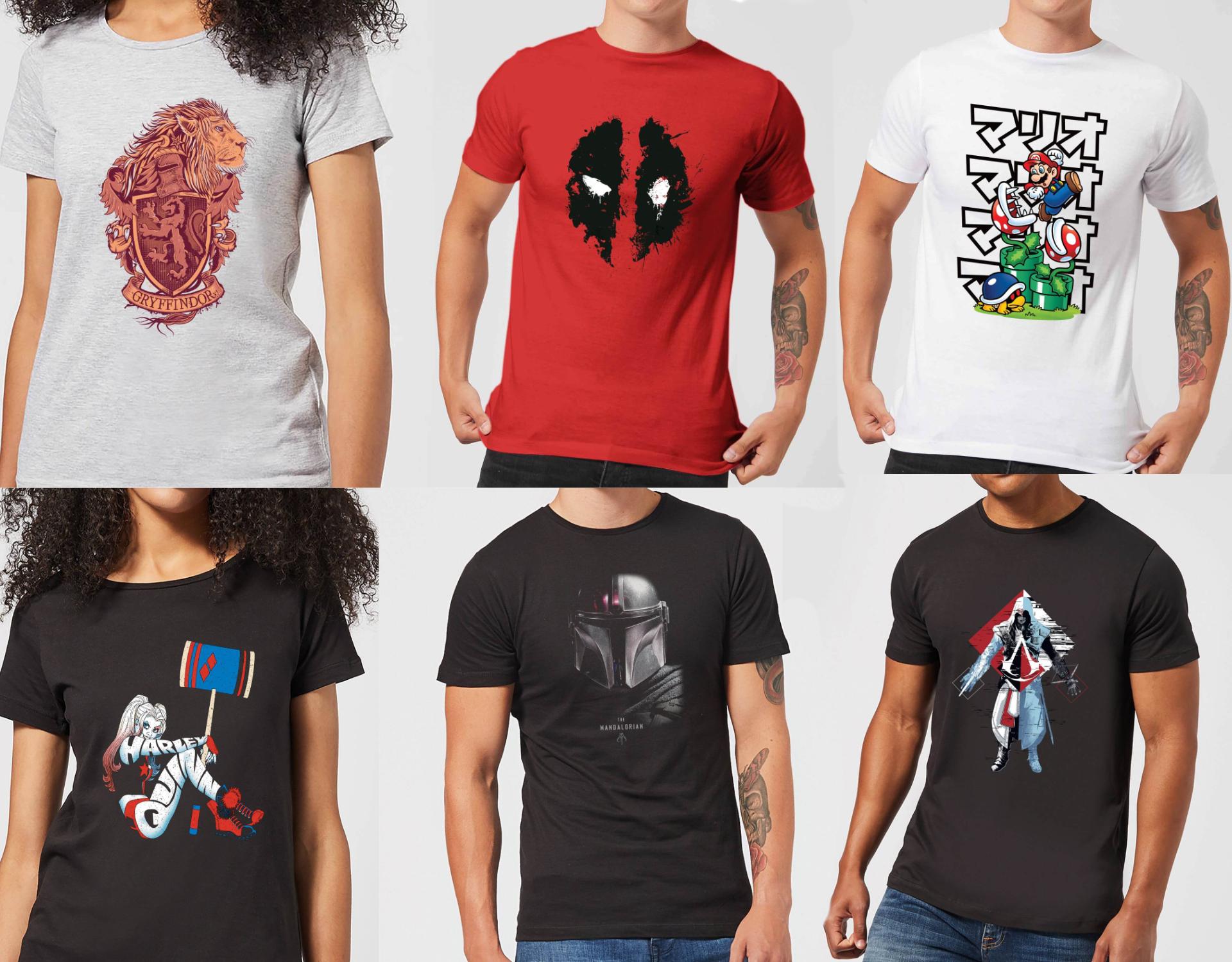 2 licencjonowane T-shirty za £18 @zavvi