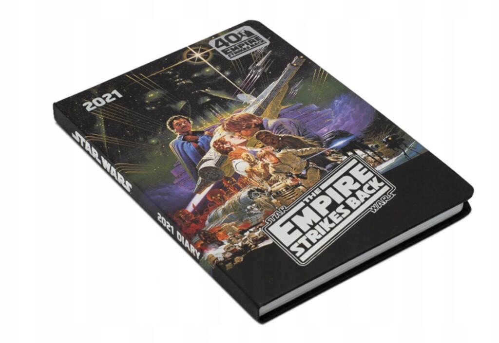 Kalendarz / Dziennki A5 2021 - Star Wars Imperium Kontratakuje(Wydanie Oficjalne) Zimowa Wyprzedaż Allegro