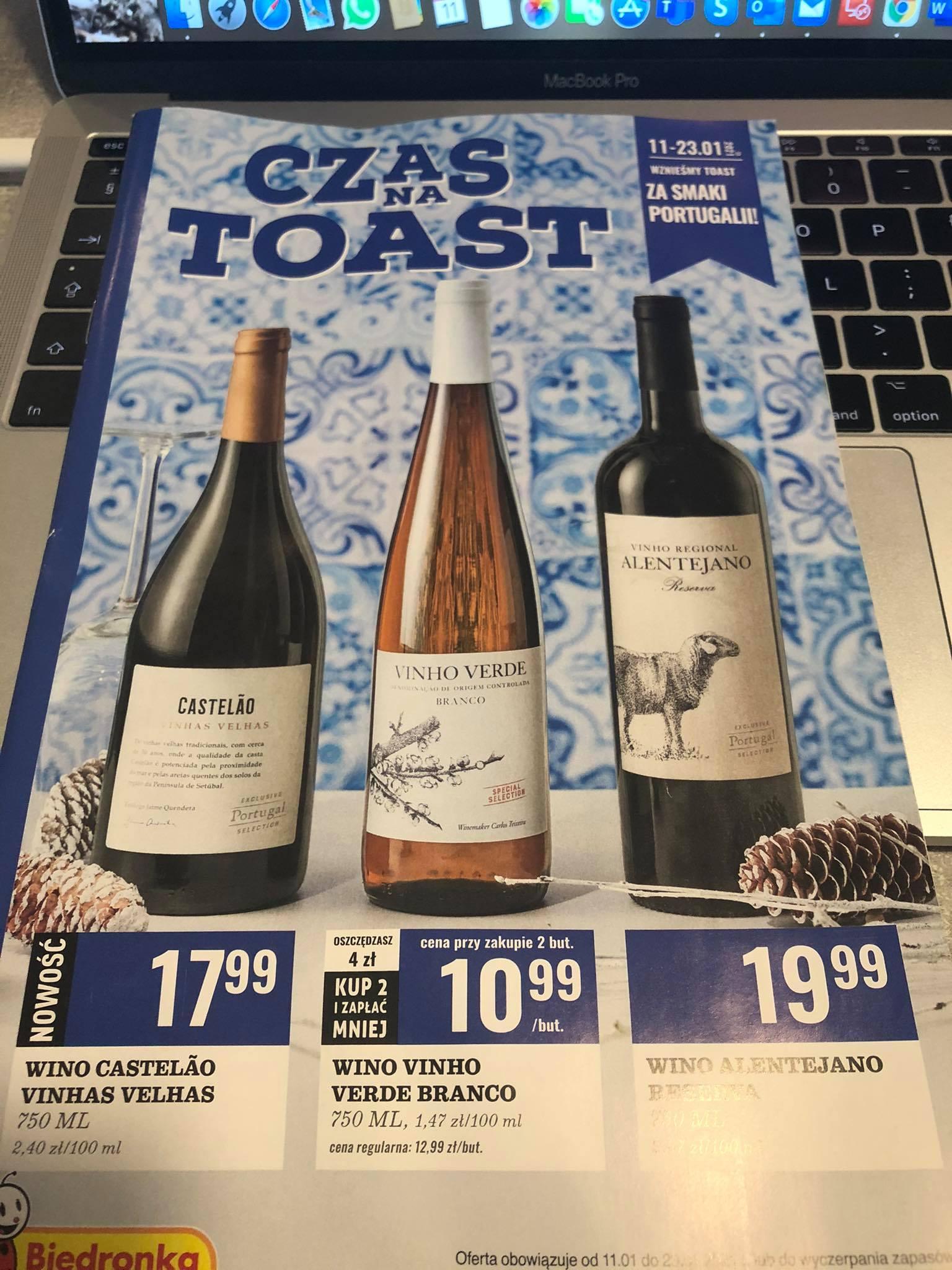 Portugalskie wina/Bierdonka