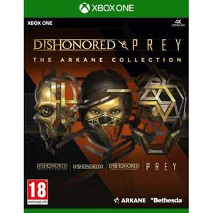 Dishonored And Prey: The Arkane Collection za 79 zł i The Dark Pictures: Little Hope za 79 zł @ Xbox One