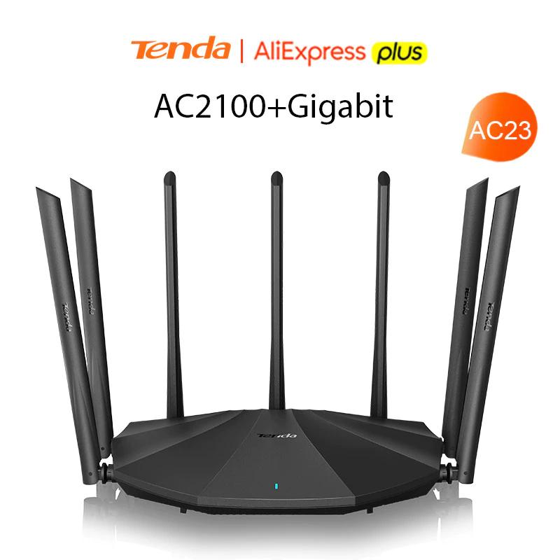 Router Tenda AC23 AC2100 Router Gigabit z Aliexpress