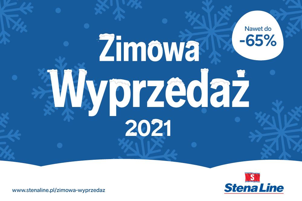Zimowa wyprzedaż wycieczek Stena Line - terminy wakacyjne