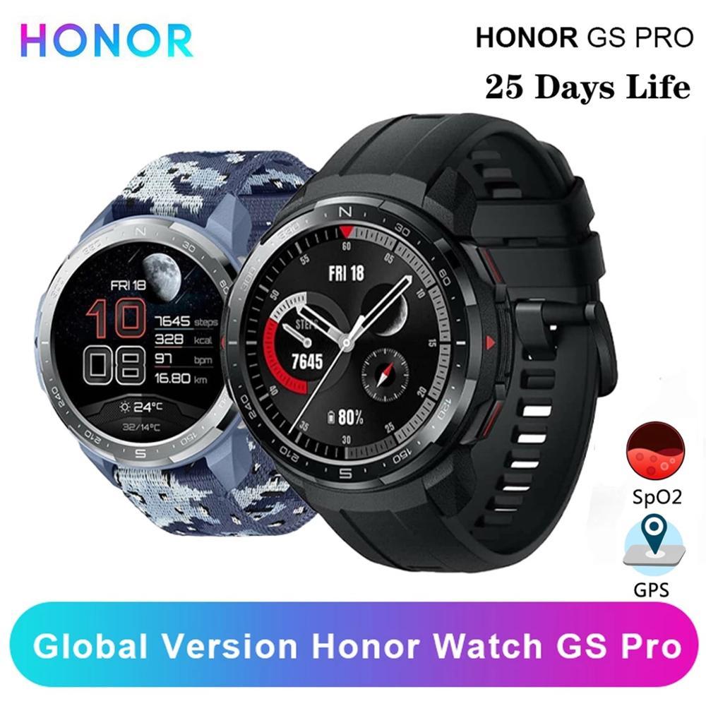 Honor Watch GS Pro Czarny wysyłka z Polski - z kuponem stoiska - 22$ i kodem na 1$