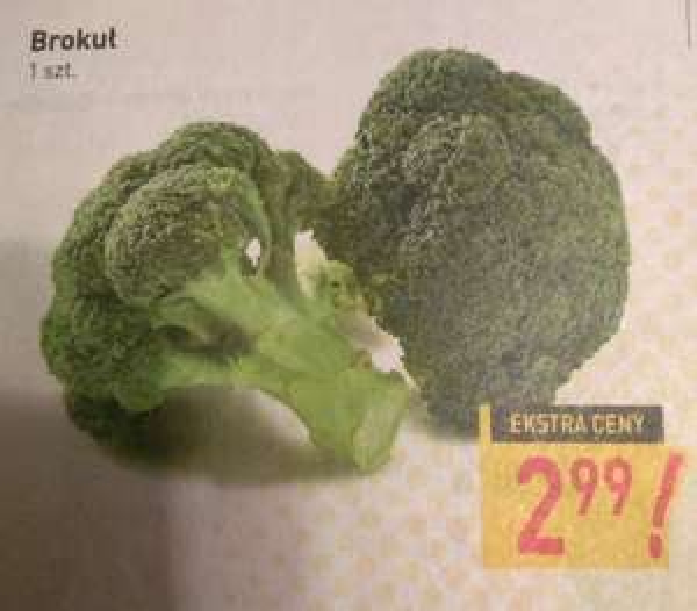 Brokuł 1szt. Stokrotka