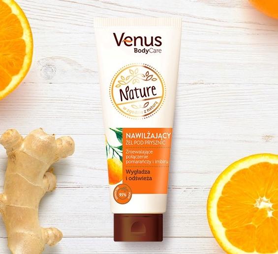 Venus Nature, Naturalny Żel Prysznicowy 250ml @Kaufland