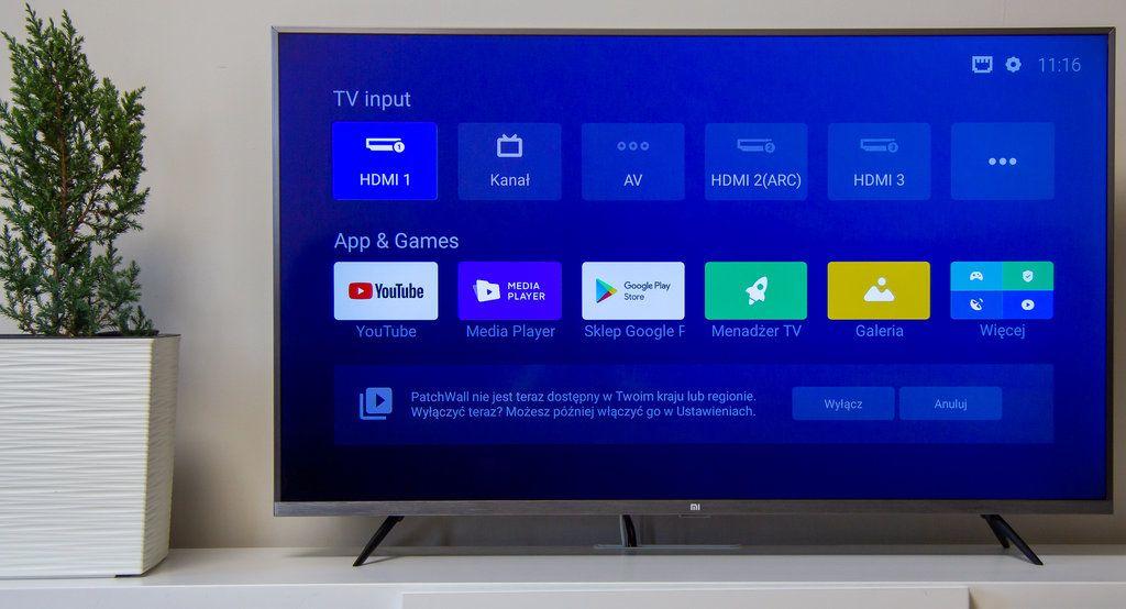 Telewizor Xiaomi Mi TV 4S (2020) 43 cale LED android
