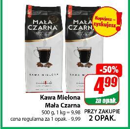 Kawa mielona Mała Czarna 500 g przy zakupie 2 opak. @Dino