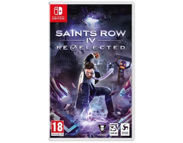 Gra Nintendo Switch Saints Row: IV – Re-Elected na mediamarkt