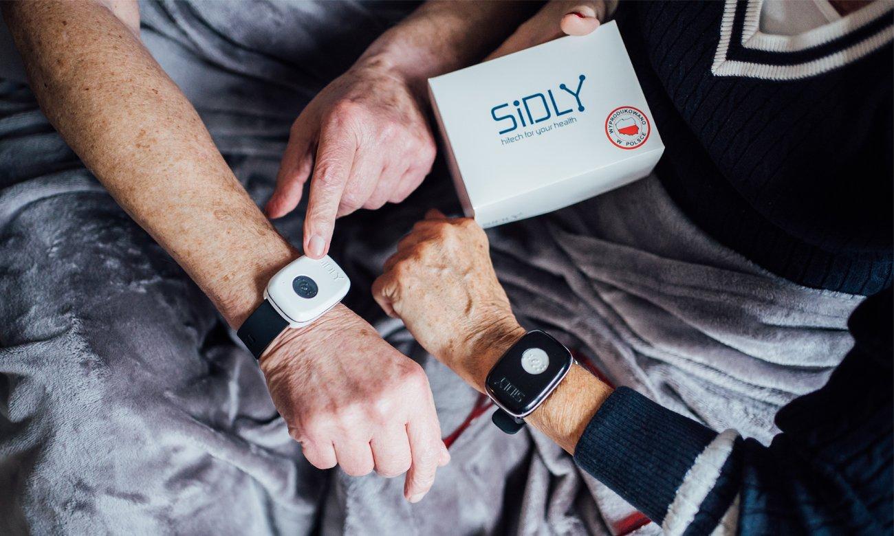 Opaska SiDLY Care 2 + roczny pakiet teleopieki dla seniora za 899zł @ al.to