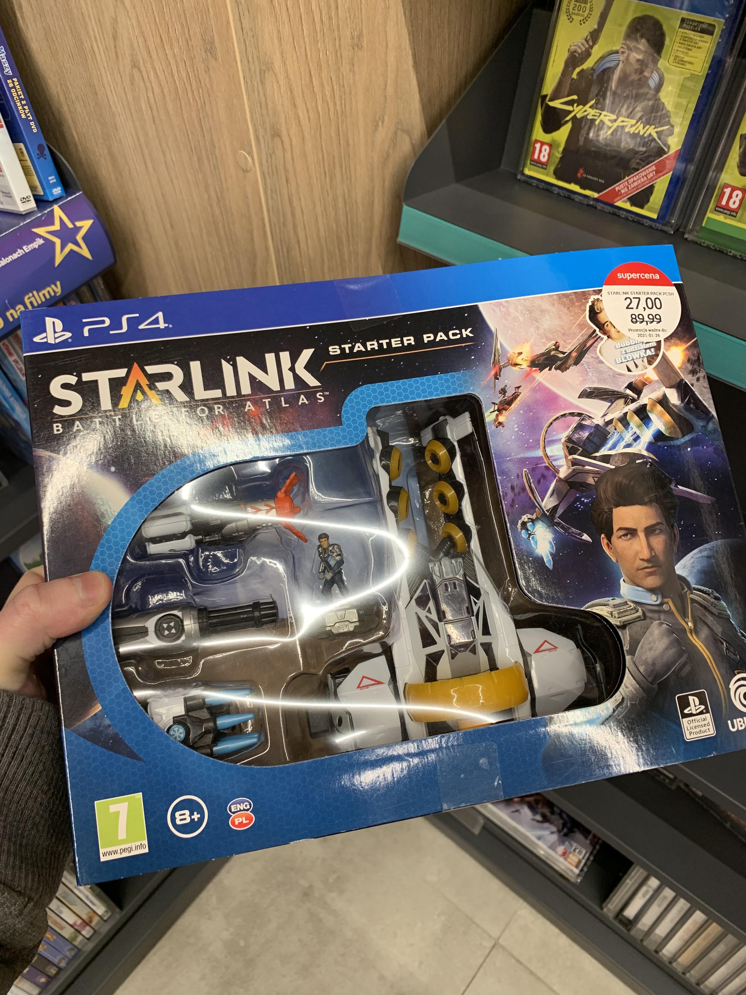 Starlink :Battle for Atlas PS4 - Starter Pack @Empik