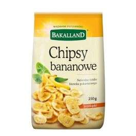 Chipsy bananowe Bakalland 250g