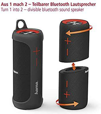 Głośnik Bluetooth wodoodporny 2w1 Hama Soundcup-D