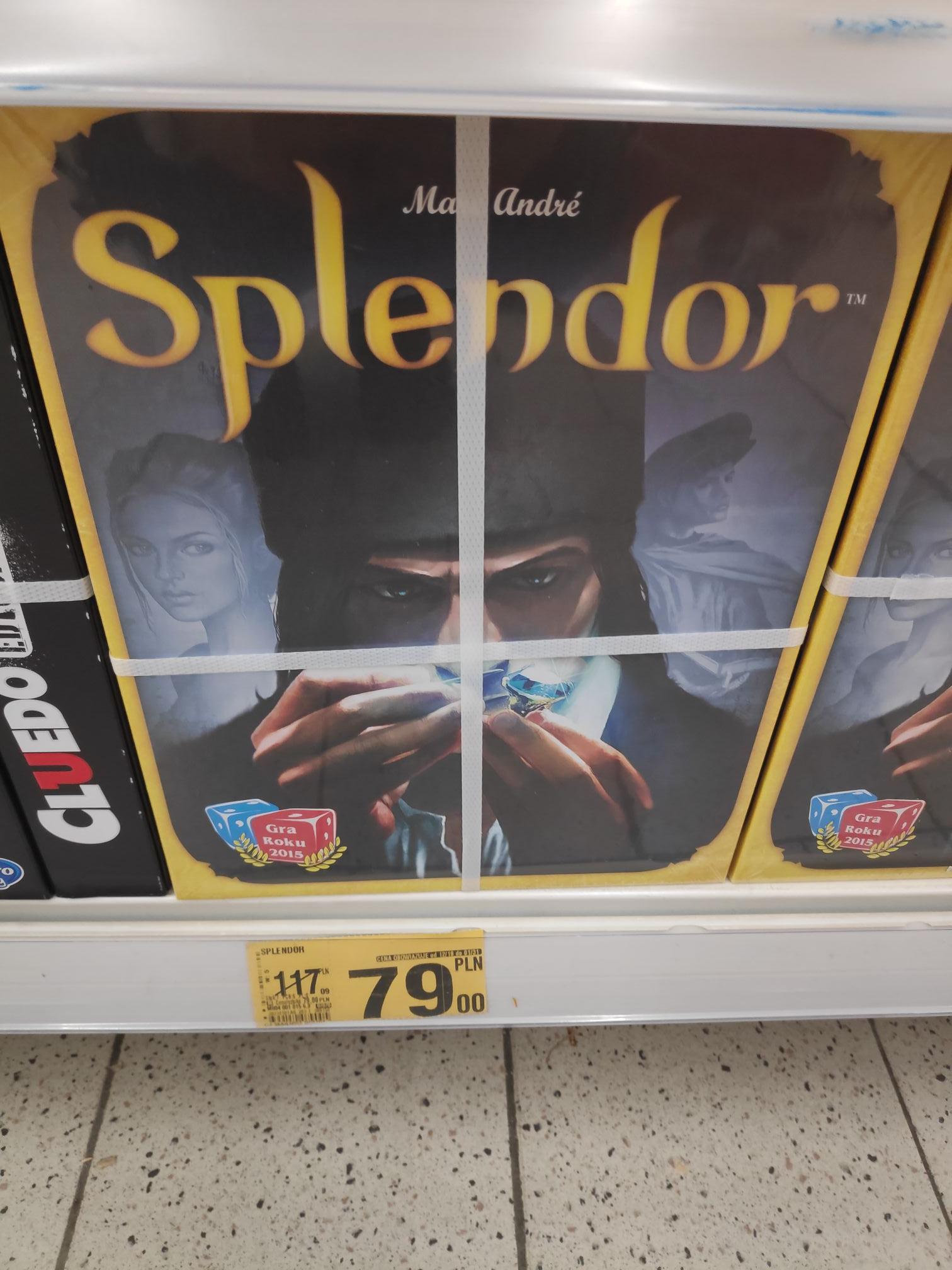 Splendor - gra planszowa @Auchan