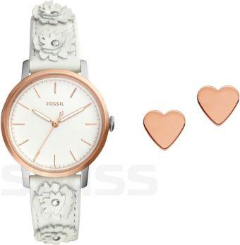 Zegarek Fossil ES4383SET + kolczyki
