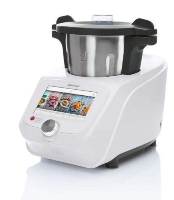 Lidlomix SILVERCREST® Wielofunkcyjny robot kuchenny 1000 W + 800 W z funkcją Wi-Fi