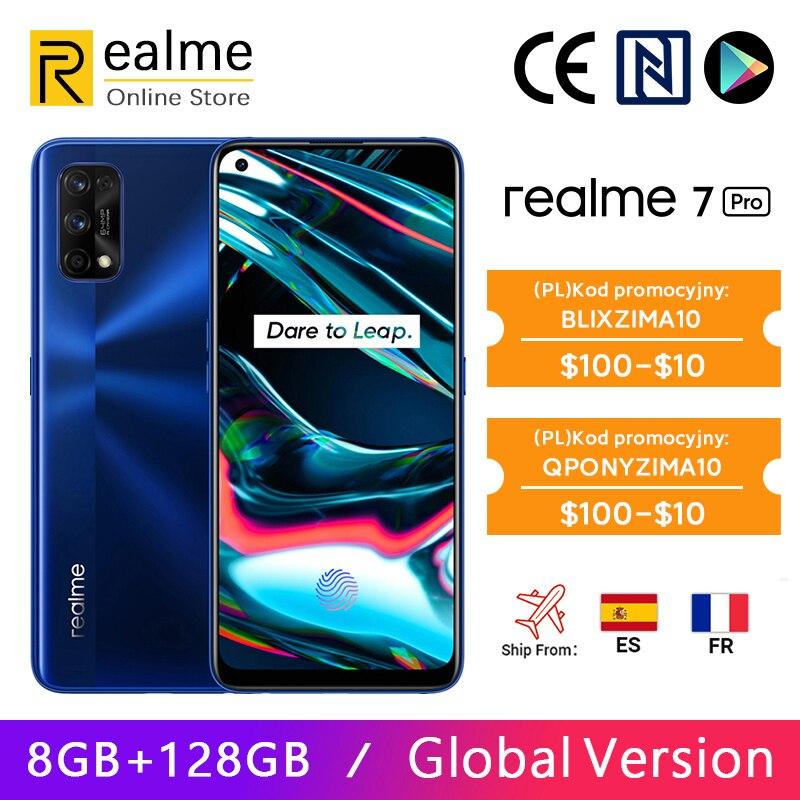 Smartfon Realme 7 Pro 8/128GB, Global, wysyłka z Hiszpanii
