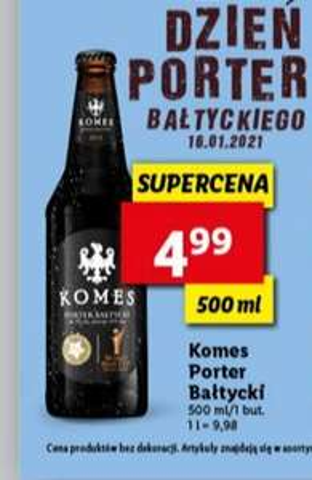 KOMES Porter Bałtycki