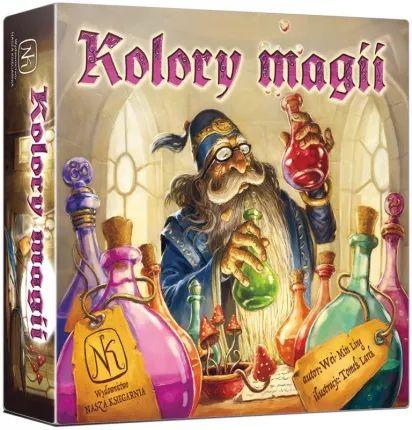 """Kolory magii - gra planszowa/karciana (w dobrej cenie też """"Odlot"""")"""