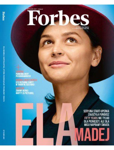 Roczna prenumerata Forbes + bon 150 zł na BP