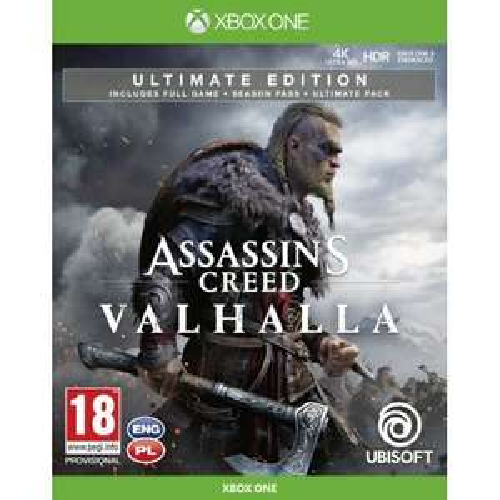 Assassin's Creed: Valhalla - Edycja Ultimate (Xbox One / Xbox Seriex X)