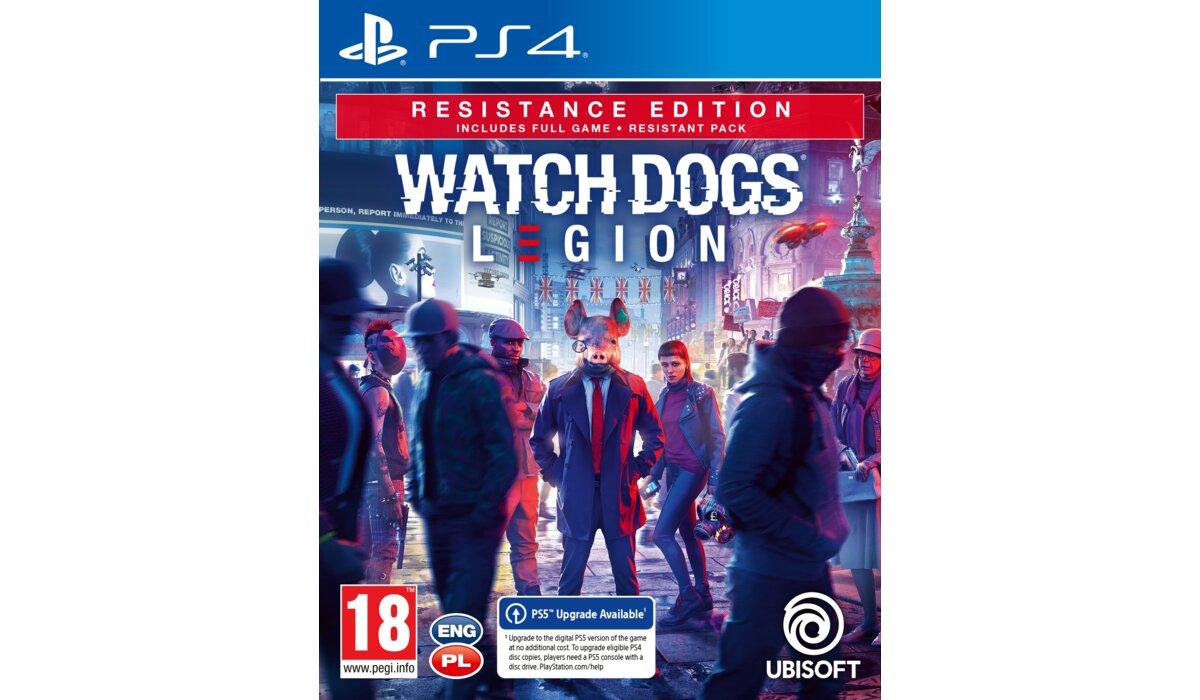 Watch Dogs Legion Edycja Zwykła (139 zł)/Resistance (139 zł)/Gold (199 zł)/Ultimate (249 zł) PS4 PS5 Xbox One Xbox Series